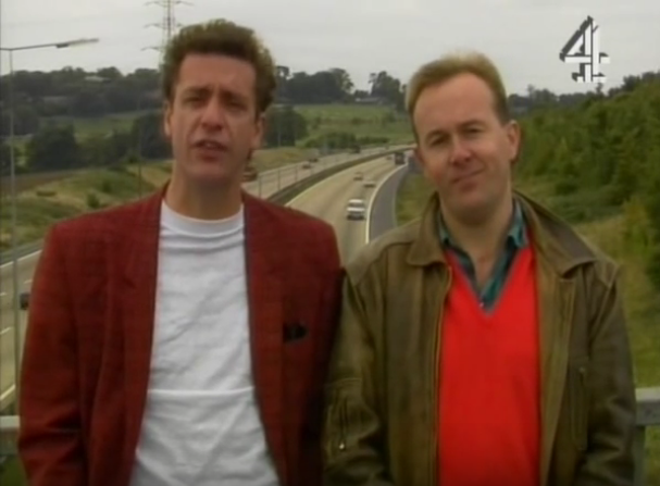 Arthur & Phil Go Off… Up The M1