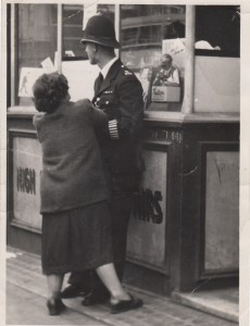 PC Syd Smith, London, 1951